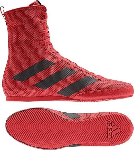 ADIDAS HOG 3 RED BOXINGSHOES