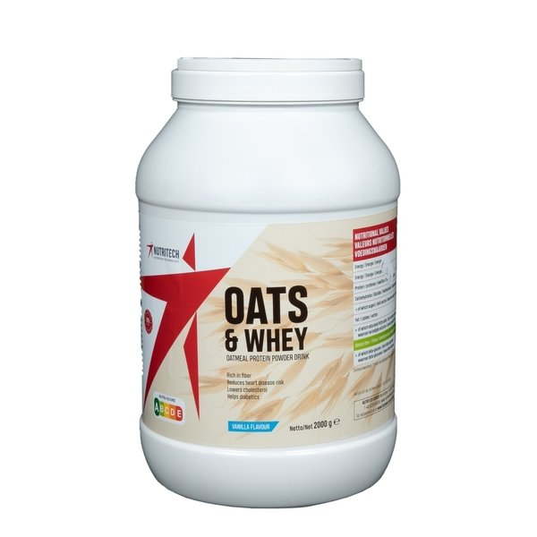 OATS AND WHEY NUTRITECH